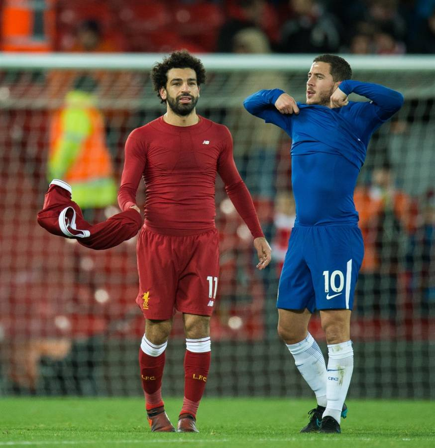 ¿Cuánto mide Mohamed Salah? - Real height Image
